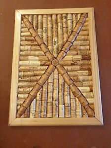 Handmade Cork Board from real corks