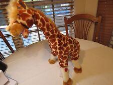 PBC International Giraffe April baby sings Animal Crackers song plush toy AS IS