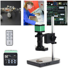 48MP HDMI Full HD Digital Zoom Industrial Microscope Camera 100X C-Mount Lens US