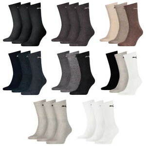 9 Pair Puma Sports Socks Tennis Socks Size 35 - 49 Unisex For Her And