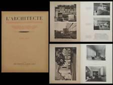 L'ARCHITECTE 1934 LE CORBUSIER, CITE DU REFUGE, HOTEL DE VILLE PUTEAUX NIERMANS