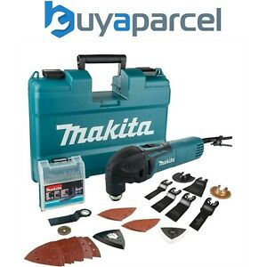 Makita TM3000CX14 240v Corded Oscillating Multi Tool TM3000 + 40pc Accessory Set