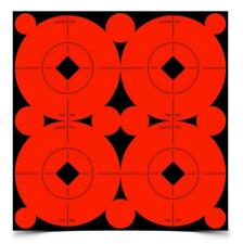 """Package of 40 Birchwood Casey 3"""" Self Adhesive Target Spots Bright Red New"""