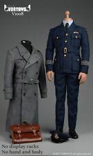 """VORTOYS V1008 WWII Pilot Male Formal Coat Suits Uniforms 1/6 F 12"""" Action Figure"""