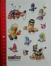 Aufkleber/Sticker: Zubo 2008 Electronic Arts Inc (140416181)