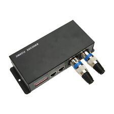 DMX 512 Decoder Controller Dimmer 3 Kanal Channel RGB 12A 3x4A LED Stripe Light