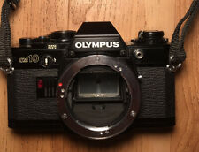 Excellent Condition Olympus OM10 BLACK 35mm Film SLR Camera Body only from JAPAN