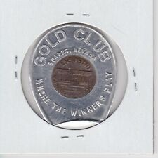 Kappyspenny W2699 1969 Gold Cup Sparks Nevada Encased Good Luck Lucky Penny