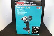"Makita XWT11Z Brushless Cordless 1/2"" Impact Wrench 18 Volt LXT"