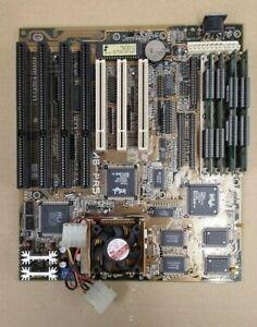 Abit AB-PR5 R2 Socket 7 Baby AT Motherboard + Intel Pentium 133 CPU & EDO RAM