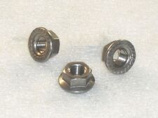 3x M10x1.25mm A4 316 Stainless Steel FLANGE Nuts Metric Fine CX500 final drive?