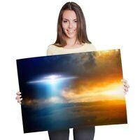 A1 - UFO Alien Aliens Space Area 51 Poster 60X90cm180gsm Print #8853