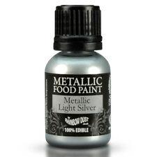 Rainbow Dust essbare metallisch Lebensmittel Farbe Event Light Silver