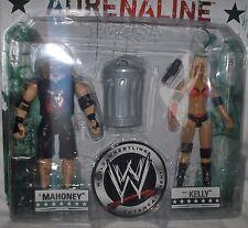 WWE Mahoney+Kelly Figuren-Set+Zubehör, ca. 18 cm WWE Wrestling---Neu,OVP,RARITÄT