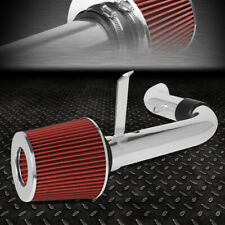 FOR 98-03 CHEVY S10/GMC SONOMA HIGH FLOW SHORT RAM AIR INTAKE SYSTEM+RED FILTER