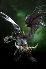 World of Warcraft Illidan Stormrage Deluxe Boxed Action Figure New in Box WoW -B