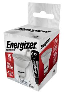 Energizer LED GU10 Spotlight Bulb - 6.2w (=60w) 36° Cool White 4000k