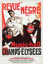 Vintage Style Poster Paul Colin Revue Negre Josephine Baker Art Deco Cabaret 20s