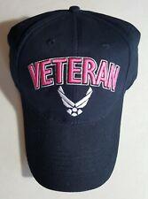 U.S. Air Force Veteran W/Wings Military Cap for Women