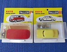 Faller AMS 4855 + 4873 --  Fiat 1800 + VW Bus !