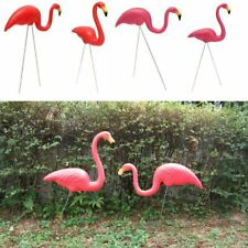 Artificial Flamingo Garden Ornament Lawn Yard Accessory Home Outdoor Decors 2pcs