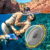 """TELESIN 6"""" Dome Port Waterproof Case For DJI Osmo Action Underwater photograph"""