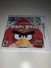 Angry Birds Trilogy (Nintendo 3DS, 2012) New and Sealed Unopened