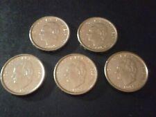 ¡¡¡ LOTE DE 5 MONEDAS DE 100 PESETAS 1995 FAO CANTO ANCHO !!!.SIN CIRCULAR.LEER.