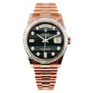 Diamond Rolex Day Date President 118395BR Unworn 2021
