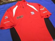 Indianapolis Indy 500 Indycar IZOD Waffle Texture 1/4 Zip Officials Polo size S