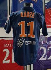 Maillot jersey shirt maglia mhsc Montpellier kabze worn porté 2010 2011 turkey