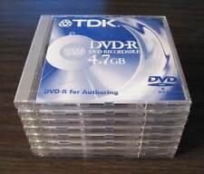 8x TDK DVD-R für DVD-Authoring 4,7GB DVD-R47SV20 für Pioneer DVR-201 only