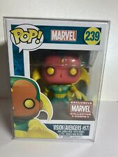 VISION #239 Funko Pop Marvel COLLECTOR CORPS EXCLUSIVE  - Avengers #57!