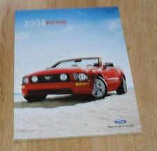 Ford Mustang Brochure 2008 Coupe & Convertible - V6 GT Shelby GT500