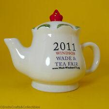 Wade (2011) Blow-Up / Slip Cast Figurine - Windsor Fair Hanging Ornament Teapot