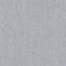 Cotton Oxford Shirting / Dressmaking - Grey - Dressmaking Fabric Fashion