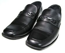 Youth 4.5 Perry Ellis Portfolio Brian Black Loafer Slip On Dress Vegan Leather