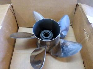 High Five Mercury Marine Stainless Steel 5 Blade Propeller 48-816374-25