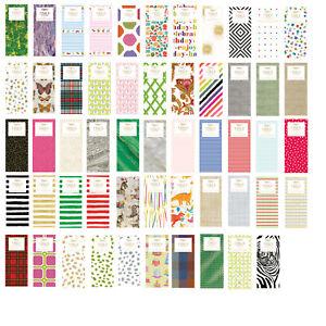 Printed Patterned Tissue Wrapping Paper designer 4 sheets - 54 designs u choose