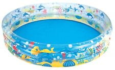 Bestway 183cm X 33cm Deep Dive 3 Ring Inflatable Pool