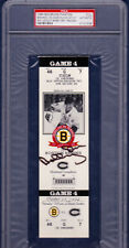 1994 Boston Bruins Game 4 Bobby Orr Signed Full Ticket PSA/DNA