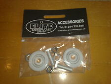 Elite Greenhouse 28mm Door Wheel replacement kits