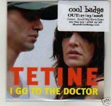 (D521) Tetine, I Go To The Doctor - DJ CD