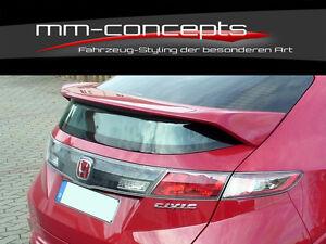 Dachspoiler für Honda Civic VIII 8 Spoiler Heckflügel Ansatz Dach Type R Neu