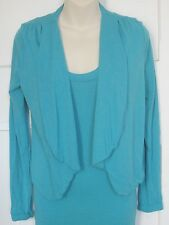 Metalicus Water Blue Super Cropped Cardi bnwt New Xmas Gift #Sunday Market