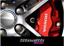 Honda Premium Brake Caliper Decals Stickers x6 Civic, accord, Various colour