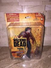 MCFARLANE THE WALKING DEAD ZOMBIE BITER FIGURE SMALL CARD SERIES ONE