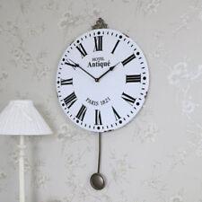 Orologi da parete bianchi analogici pendolo