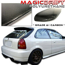 96 97 98 99 00 HONDA CIVIC EK HATCHBACK CARBON FIBER REAR ROOF SPOILER DUCKBILL