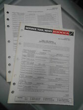 Vintage Honda Factory Service Bulletin Engine Tools 1983-1984 XR350R 5426-6612